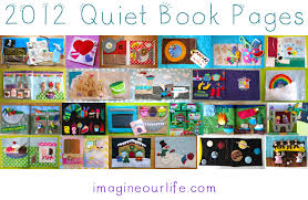 a year of quiet book pages 2016