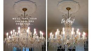 picture fox chandelier cleaning