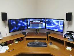 Triple Display Monitor Stand WOWDIY triple monitor stand my take on it [H]ardForum I 57