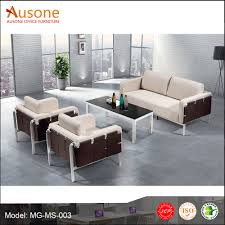 factory wholesale indoor morden soft sofa set four seater leather