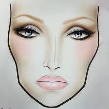 Mac Bridal Makeup Face Charts Saubhaya Makeup