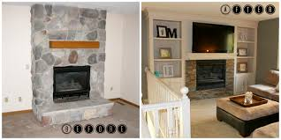 Enchanting Fireplace Renovations Before And After 38 For Your Home  Decorating Ideas with Fireplace Renovations Before And After