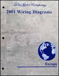 ford escape wiring diagram manual original