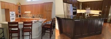 Cabinet Refinishing Phoenix AZ  Tempe Arizona Kitchens Bathrooms - Lacquered kitchen cabinets