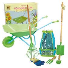 childrens garden tools set. Childrens Gardening Tools And Wheelbarrow Garden Set R