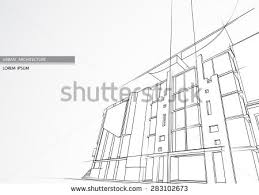 architectural building sketches. Abstract Architecture Building. Architectural Building Sketches
