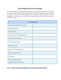 Banquet Event Order Form Template. Event Registration Form Template ...