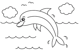 Small Picture Free dolphin coloring pages for kids ColoringStar