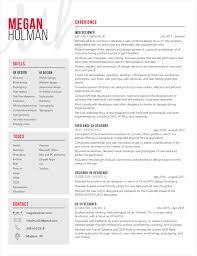 Ui Designer Resume Resume Megan Holman UXUI Designer 17