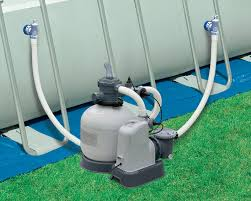 Salt water pool systems Diagram Intex 2650 Gph 95 Hp Sand Filter Pump And Saltwater Pool System 28681eg Backyardpoolscom Above Ground Pool Superstore Shop Easy Intex 2650 Gph 95 Hp Sand Filter Pump And Saltwater Pool System