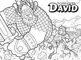 Small Picture David and goliath bible coloring pages ColoringStar