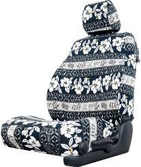 oahu black hawaiian custom seat cover