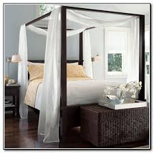 Curtains For Four Poster Bed four post bed curtains - home design