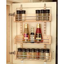 rev a shelf 16 125 in w x 25 in tier door wall mount wood e rack