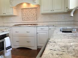 Beautiful Tiles For Kitchen Kitchen Design With Beautiful Granite Countertops Tile And White