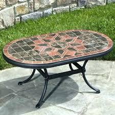 mosaic patio table small garden furniture incredible design for ideas end tables