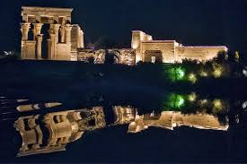 Sound And Light Show Philae Temple Aswan Philae Temple Sound And Light Show Travelestta