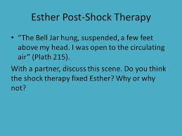 do now write down three components of a strong effective essay esther post shock therapy the bell jar hung suspended a few feet above