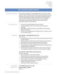 Art Teacher Resume Sample Resume Art Teacher Resume 21