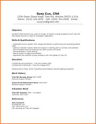 Certified Nursing Assistant Resume Starengineering