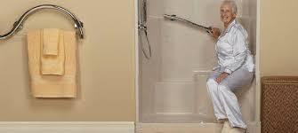 premier easy step walk in showers freedom showers