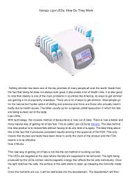 Vevazz Lipo Light Vevazz Machines