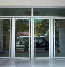 aluminium entrance doors exterior back with glass door