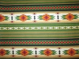 Navajo border designs Pattern Image Etsy Native American Traditional Navajo Green Orange Border Cotton Etsy