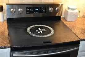 black glass top electric range ge 5 burner 30 black smooth top stove