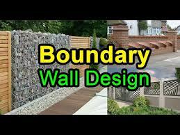 boundary wall design ideas for home