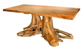 tree stump dining table double stump dining table diy tree stump dining table