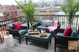 Outdoor Furniture For Small Deck Marvelous A Urban Balcony Patio Decorating  Ideas By Alex Kaehler 46 Small Deck Furniture Ideas P4