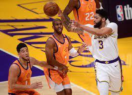 Los Angeles Lakers vs Phoenix Suns Game ...