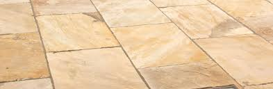 cleaning indian sandstone paving slabs