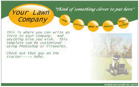 lawn care templates lawn care template rome fontanacountryinn com