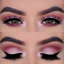 perfect pink eye makeup â â â pink lips pink eyeshadow