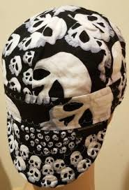 Welding Hat Pattern Adorable Black Skull Welding Cap