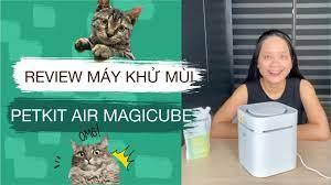 REVIEW Máy khử mùi tự động - Petkit Air Magicube từ A - Z - YouTube