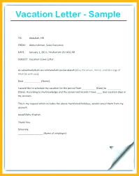 How To Write Vacation Leave Letter Familycourt Us