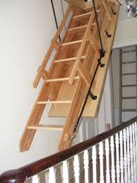 folding attic stairs drop down