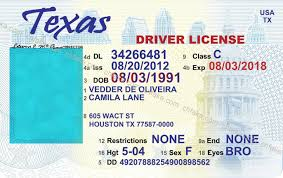 Texas License - Template Drivers Download Free Printable Fake Beepmunk