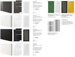 a close look at ikea sektion cabi doors kitchen cabinet ideas