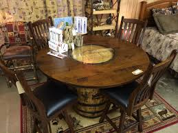 bourbon barrel table whiskey barrel furniture