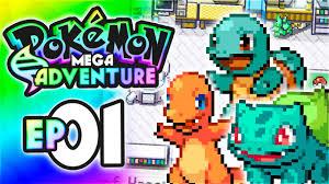 Ash and Serena?! | Pokemon Mega Adventure Let's Play Walkthrough - Episode  1 - YouTube