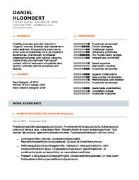 Modern Resume Format Best Modern Resume Templates [48 Examples Free Download]