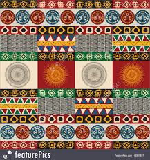 Mayan Patterns Best Abstract Patterns Seamless Mayan Aztec Pattern Stock