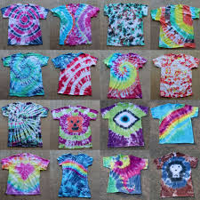 picture of tie dye party learn to tie dye