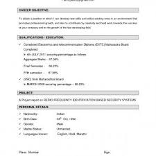 Career Objective On Resume Sample Resume Objectives For Freshers Fresh Resume Career 66