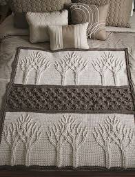 Tree Of Life Afghan Crochet Pattern By Lion Brand Yarn