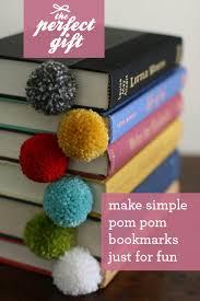 diy yarn ball pom pom bookmark tutorial featured by top us lifestyle blogger design mom